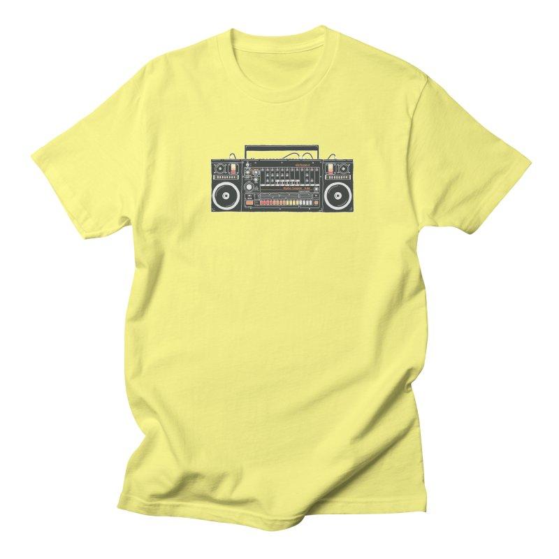 destroyer of batteries Men's T-Shirt by velcrowolf