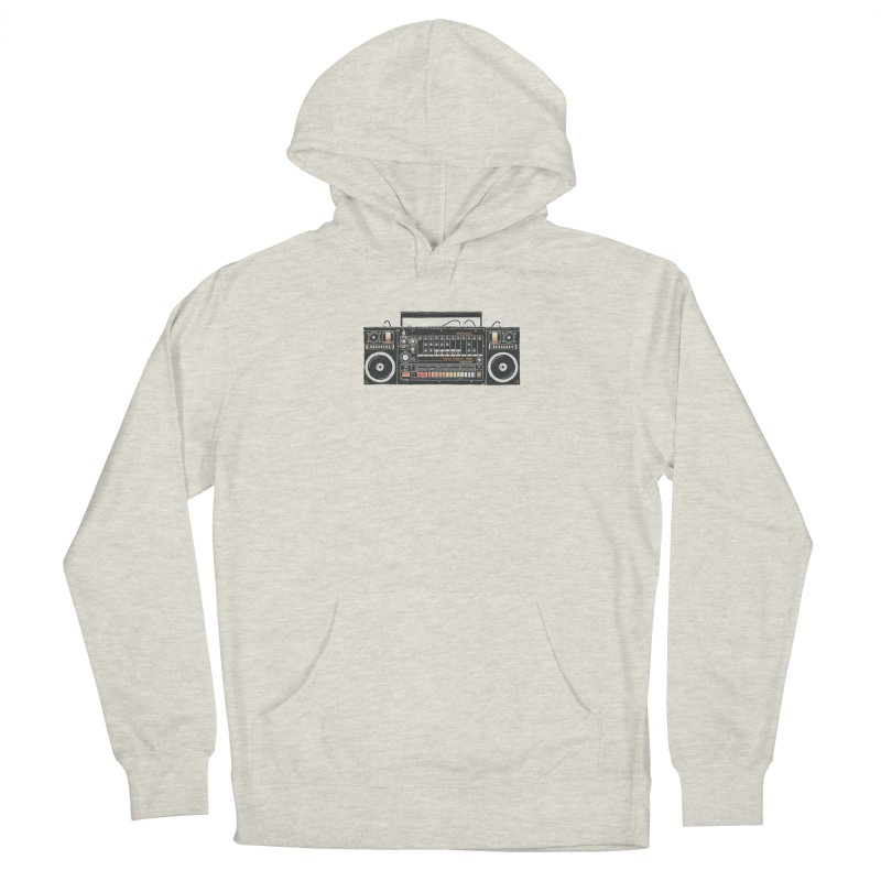 destroyer of batteries Women's French Terry Pullover Hoody by velcrowolf