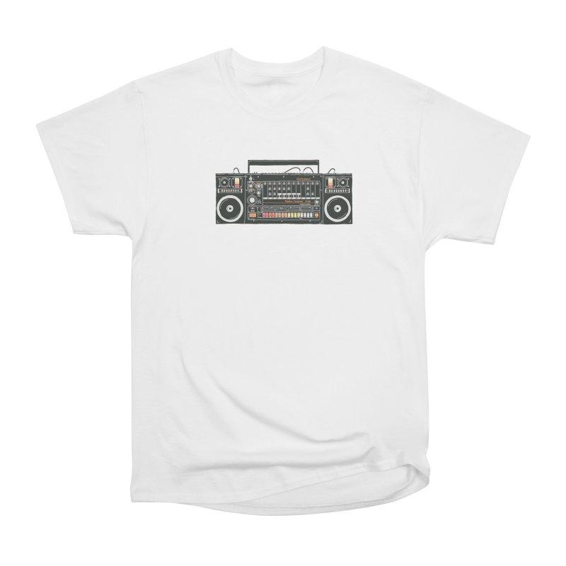destroyer of batteries Women's Heavyweight Unisex T-Shirt by velcrowolf