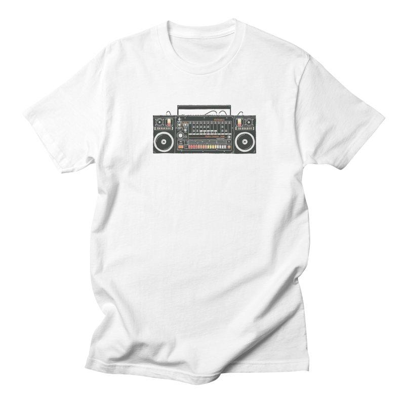 destroyer of batteries Men's Regular T-Shirt by velcrowolf