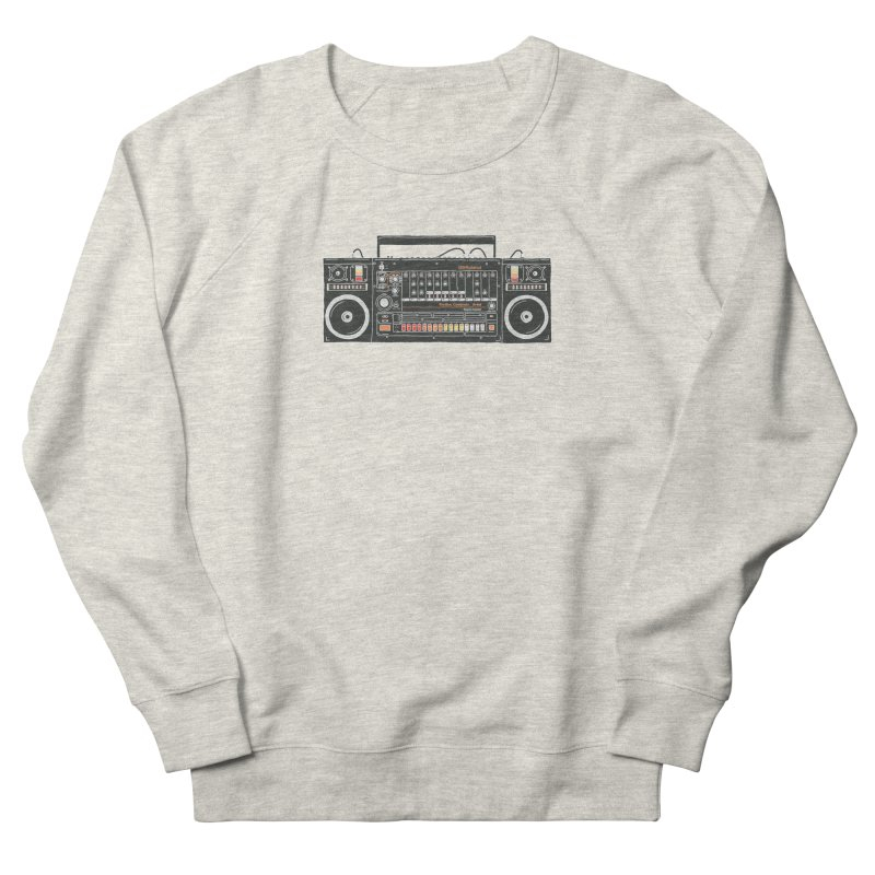 destroyer of batteries Men's French Terry Sweatshirt by velcrowolf