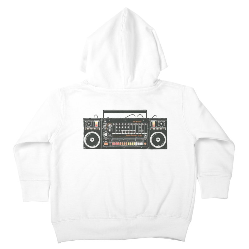 destroyer of batteries Kids Toddler Zip-Up Hoody by velcrowolf