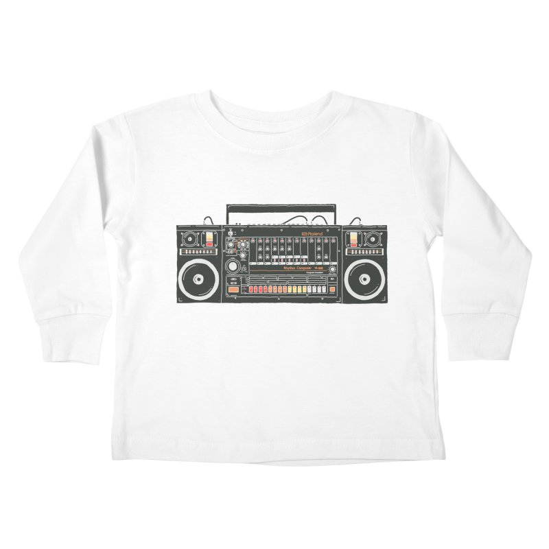 destroyer of batteries Kids Toddler Longsleeve T-Shirt by velcrowolf