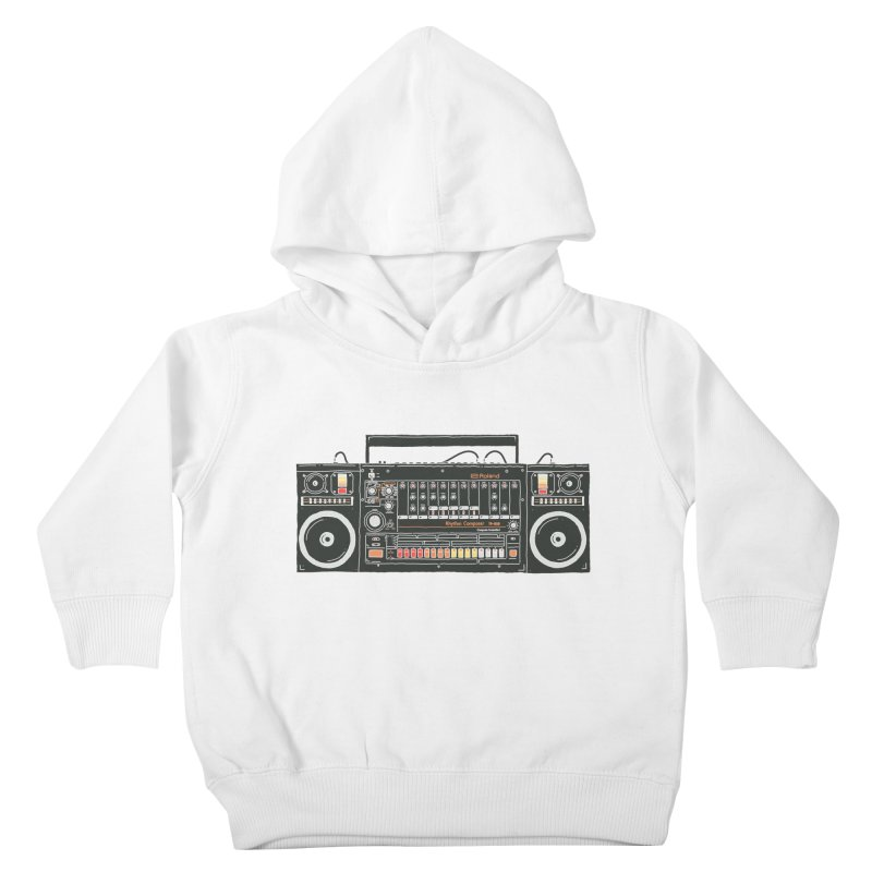 destroyer of batteries Kids Toddler Pullover Hoody by velcrowolf