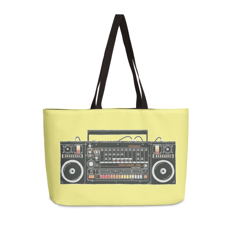 destroyer of batteries Accessories Weekender Bag Bag by velcrowolf