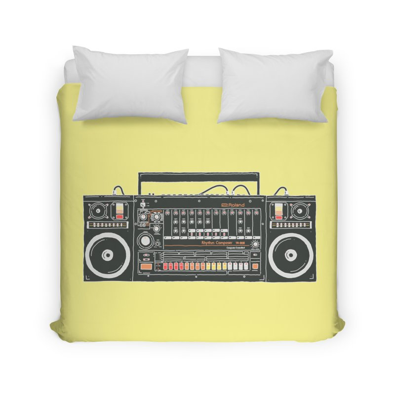 destroyer of batteries Home Duvet by velcrowolf