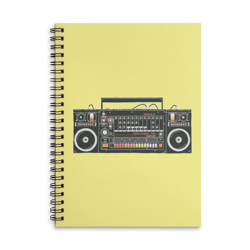 destroyer of batteries Accessories Lined Spiral Notebook by velcrowolf