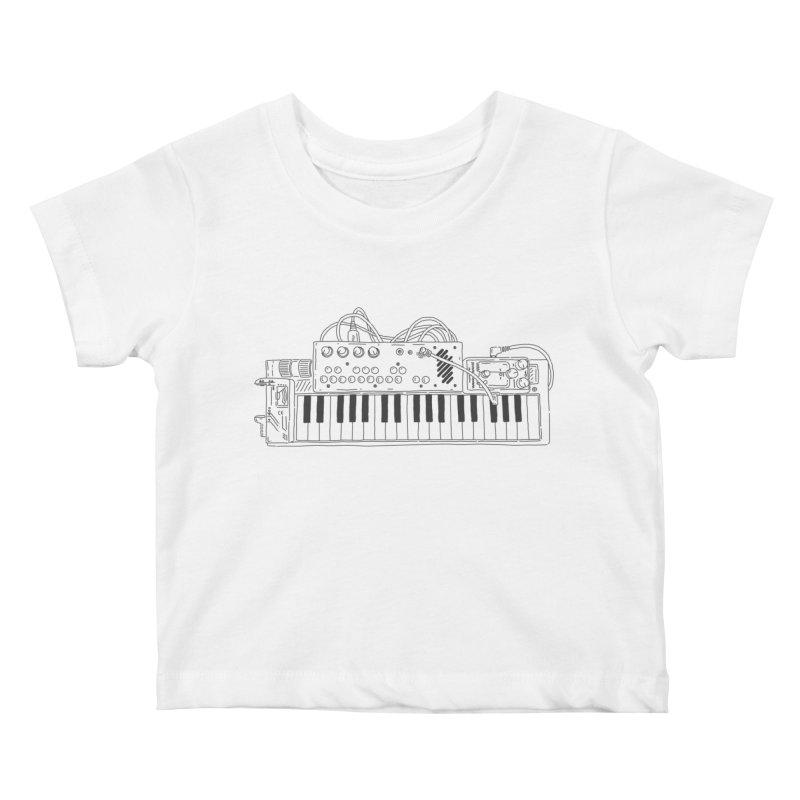 Casio Supermod (Black) Kids Baby T-Shirt by velcrowolf