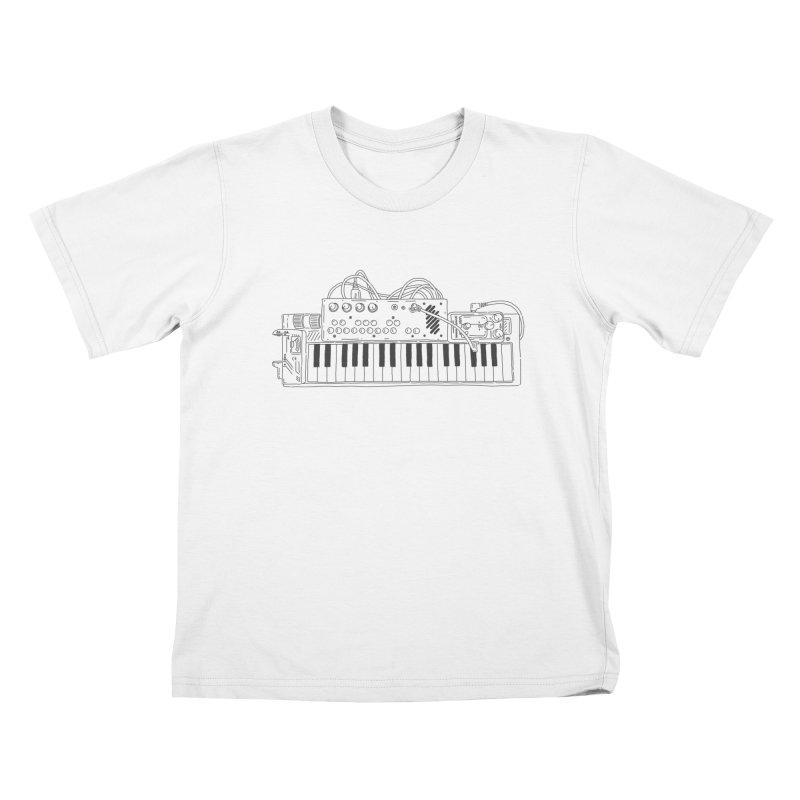 Casio Supermod (Black) Kids T-Shirt by velcrowolf