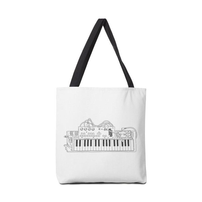 Casio Supermod (Black) Accessories Tote Bag Bag by velcrowolf