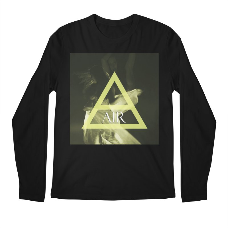 Elements Vol. 2 - Air Men's Longsleeve T-Shirt by Venus Aeon (clothing)