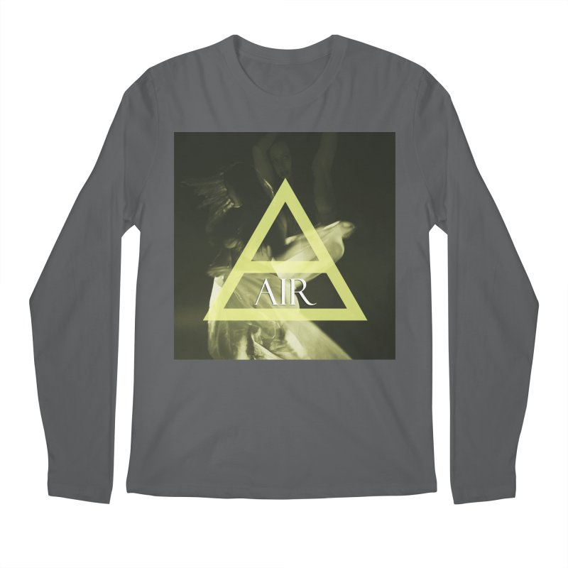 Elements Vol. 2 - Air Men's Regular Longsleeve T-Shirt by Venus Aeon (clothing)