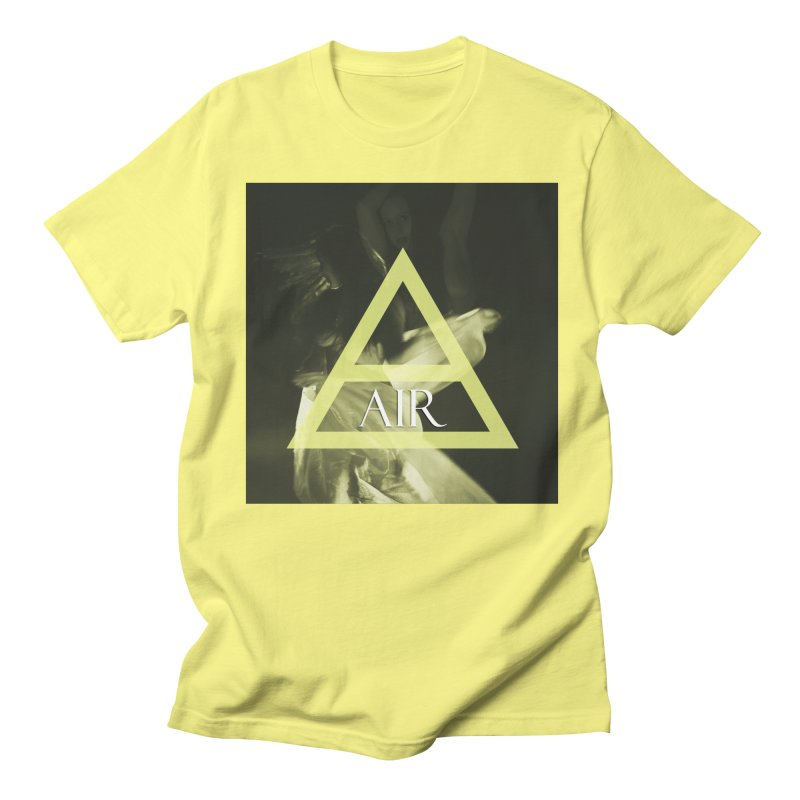 Elements Vol. 2 - Air Men's Regular T-Shirt by Venus Aeon (clothing)