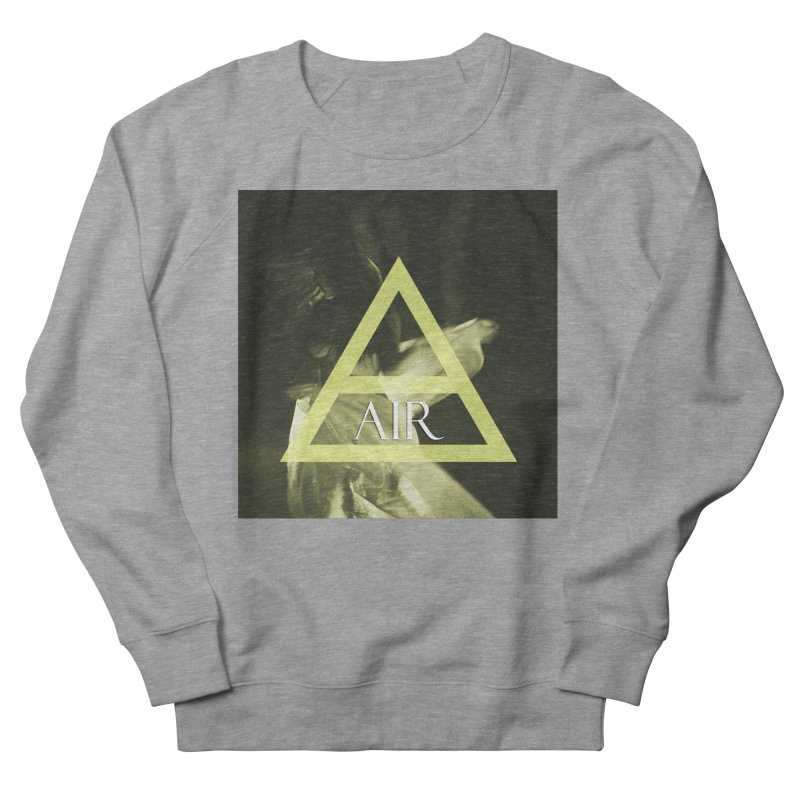 Elements Vol. 2 - Air Men's French Terry Sweatshirt by Venus Aeon (clothing)