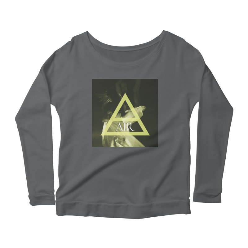Elements Vol. 2 - Air Women's Longsleeve Scoopneck  by Venus Aeon (clothing)