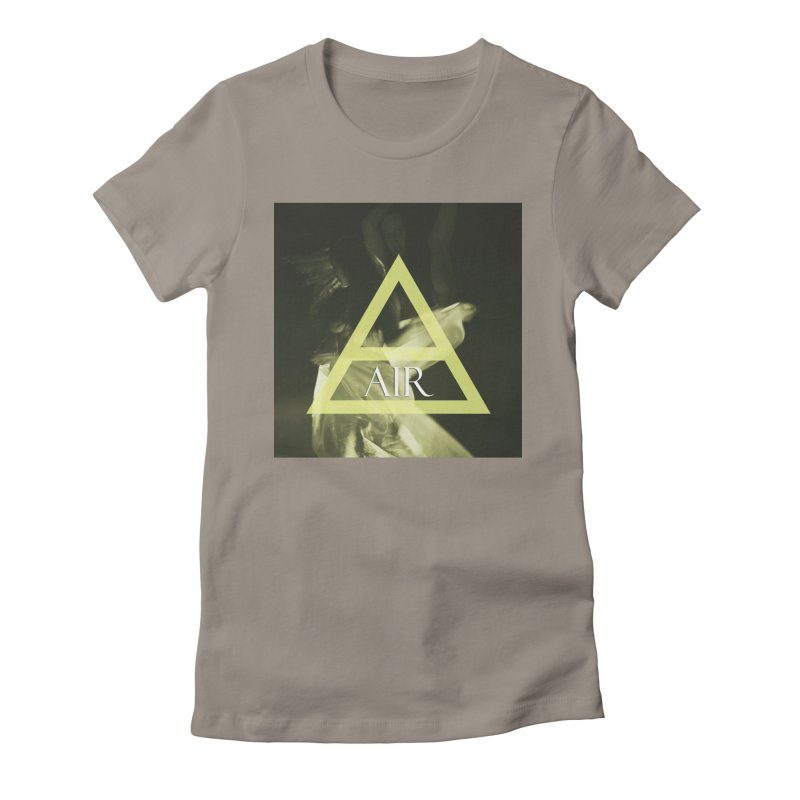 Elements Vol. 2 - Air Women's Fitted T-Shirt by Venus Aeon (clothing)