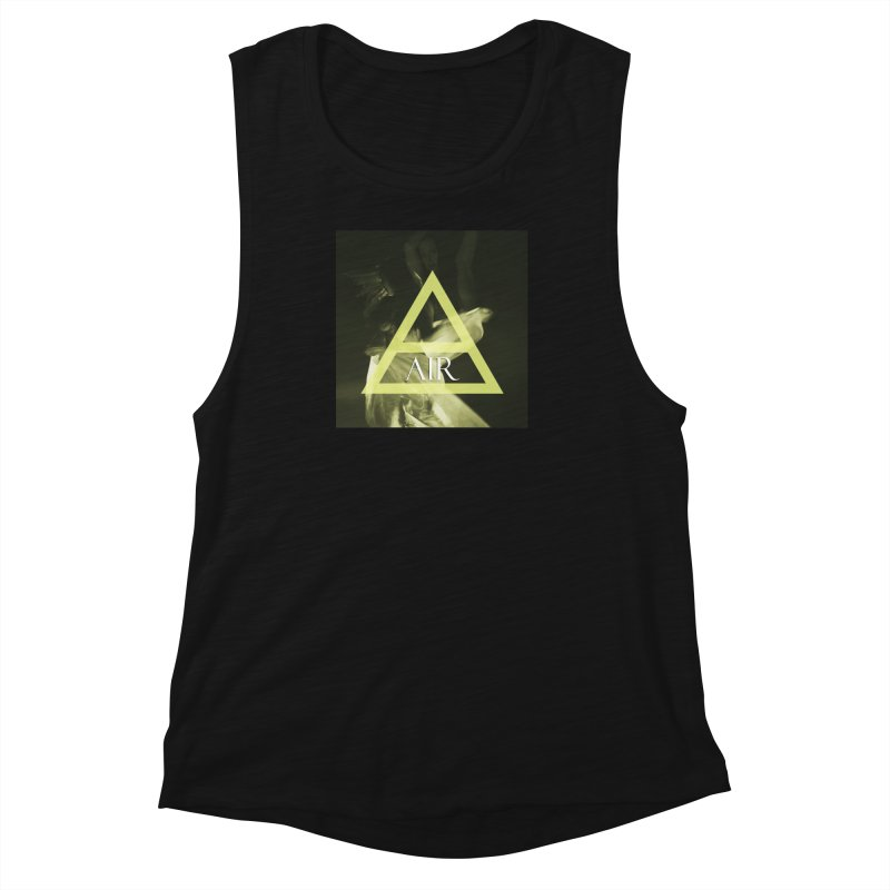 Elements Vol. 2 - Air Women's Muscle Tank by Venus Aeon (clothing)