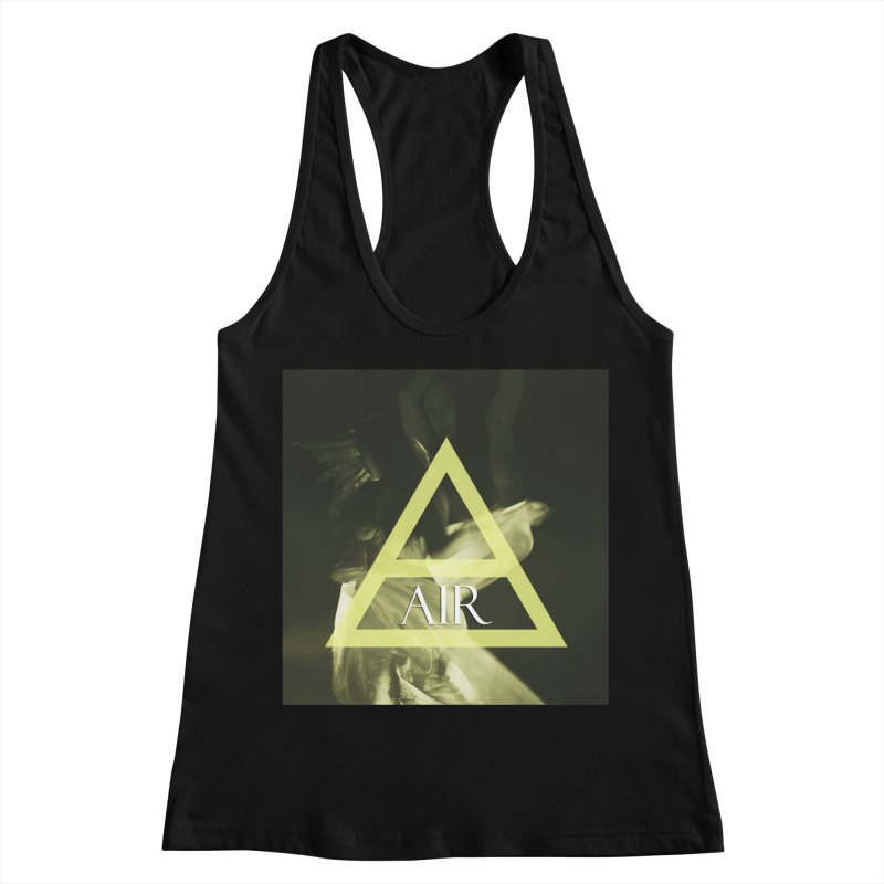 Elements Vol. 2 - Air Women's Racerback Tank by Venus Aeon (clothing)