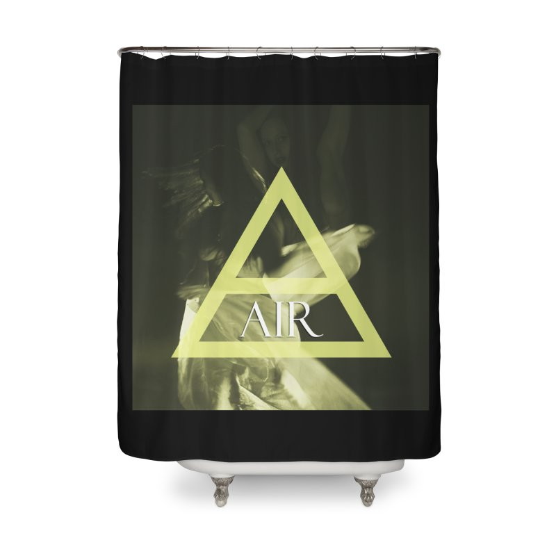 Elements Vol. 2 - Air Home Shower Curtain by Venus Aeon (clothing)