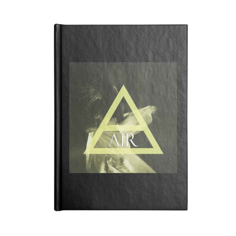 Elements Vol. 2 - Air Accessories Blank Journal Notebook by Venus Aeon (clothing)