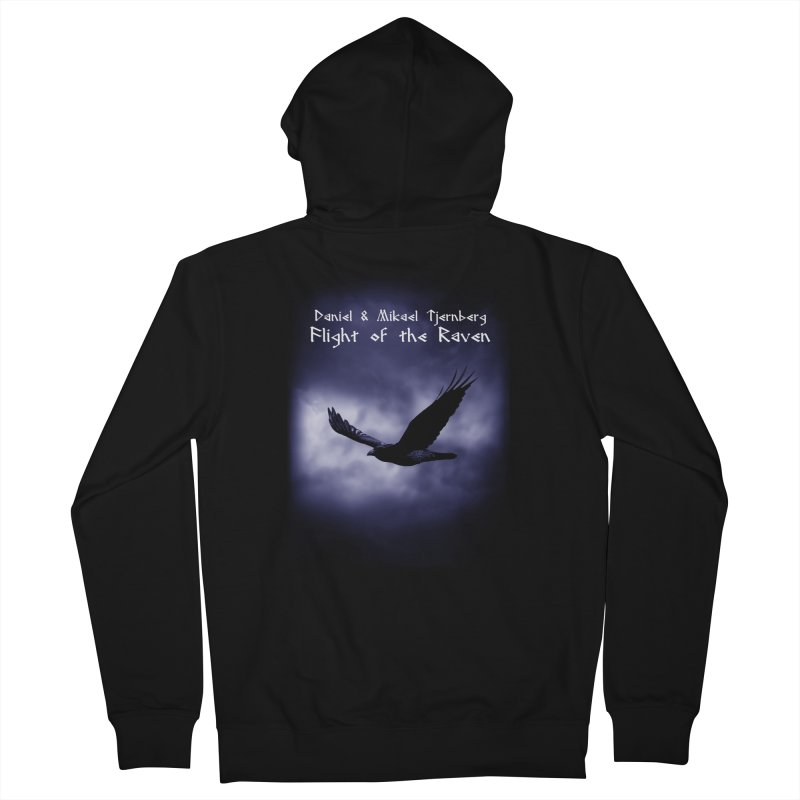 Flight of the Raven Men's Zip-Up Hoody by Venus Aeon (clothing)