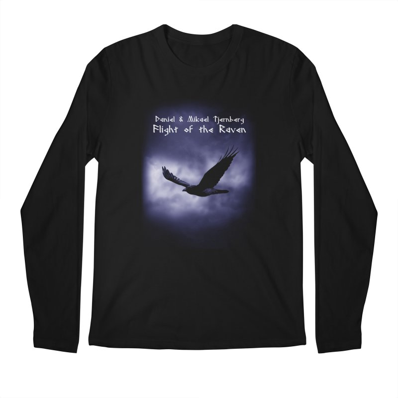 Flight of the Raven Men's Regular Longsleeve T-Shirt by Venus Aeon (clothing)