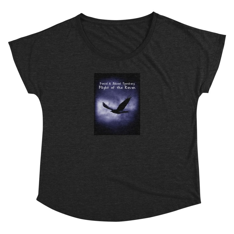 Flight of the Raven Women's Scoop Neck by Venus Aeon (clothing)