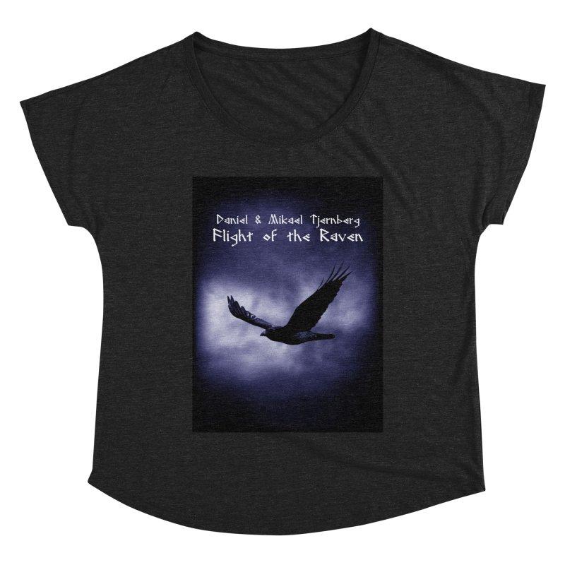 Flight of the Raven Women's Scoop Neck by Venus Aeon (clothing)