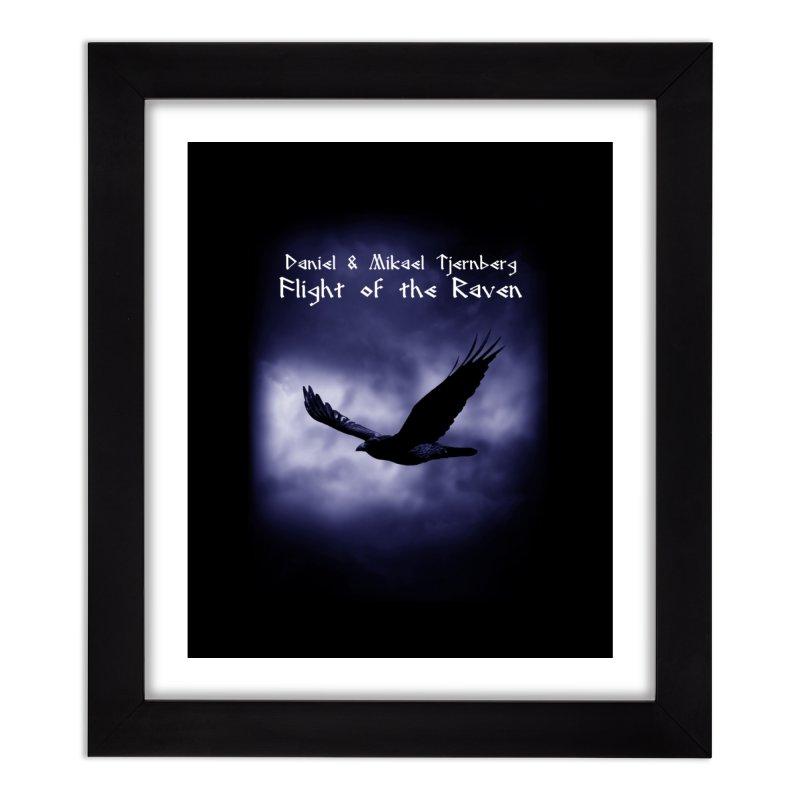 Flight of the Raven Home Framed Fine Art Print by Venus Aeon (clothing)