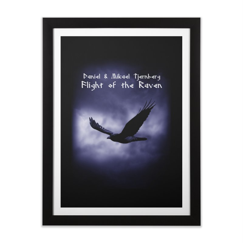 Flight of the Raven Home Framed Fine Art Print by Venus Aeon (clothing)