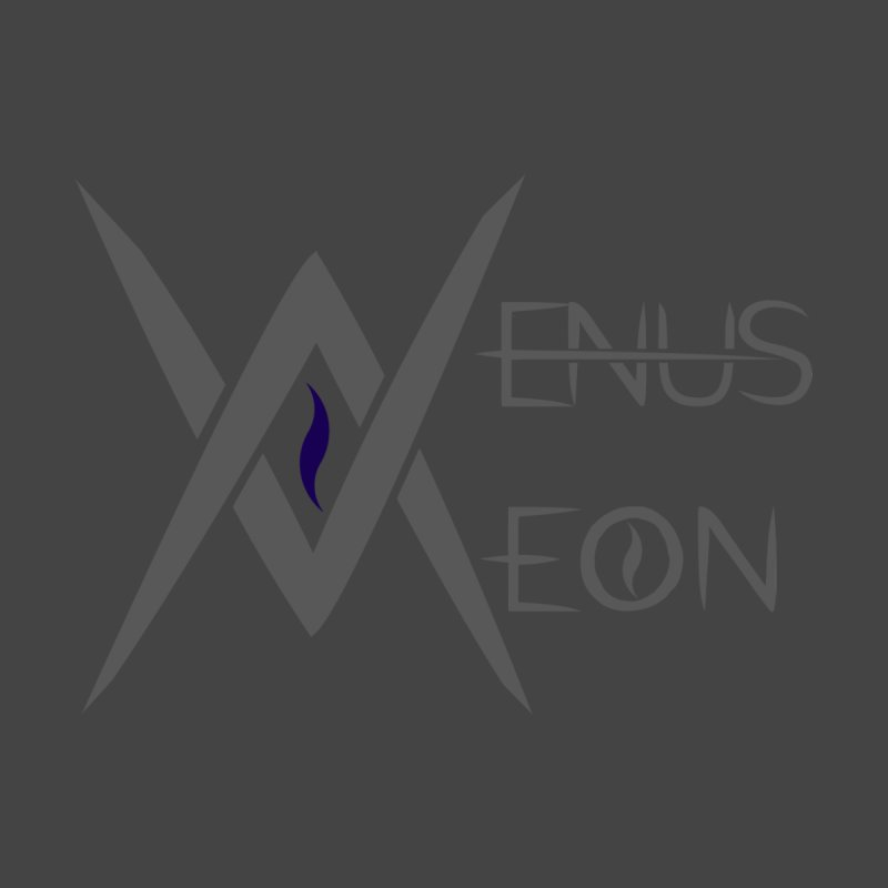 Venus Aeon logo (grey) Accessories Notebook by Venus Aeon (clothing)
