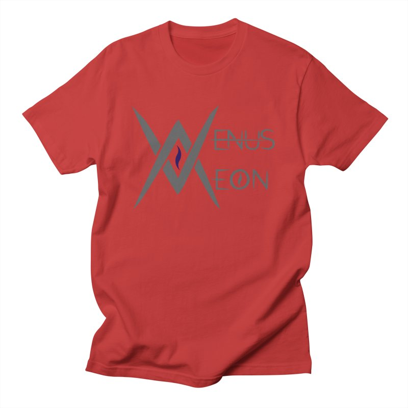 Venus Aeon logo (grey) Men's T-Shirt by Venus Aeon (clothing)