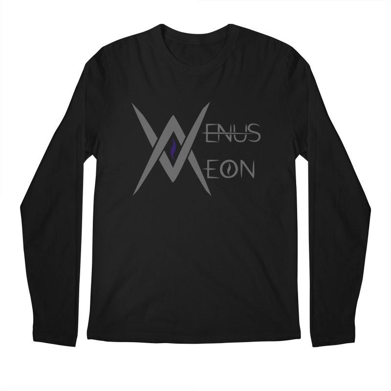 Venus Aeon logo (grey) Men's Longsleeve T-Shirt by Venus Aeon (clothing)