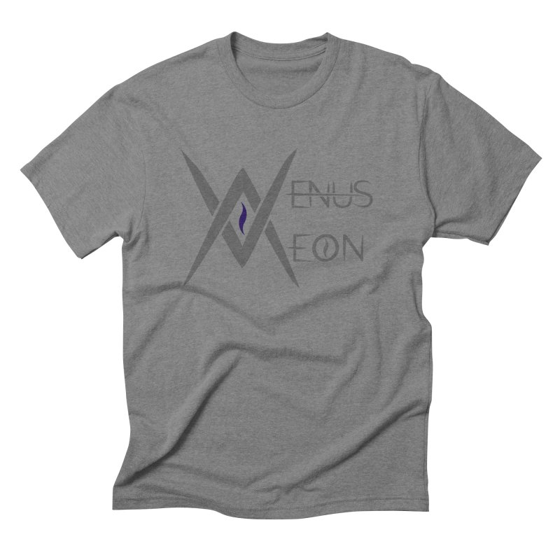 Venus Aeon logo (grey) Men's T-Shirt by Venus Aeon (clothing)