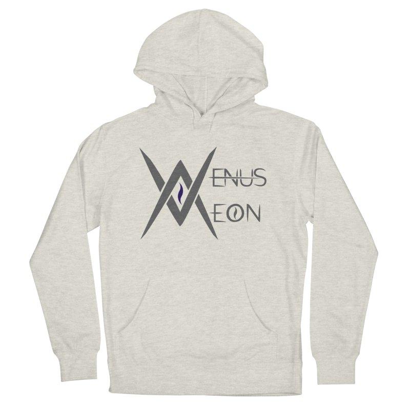 Venus Aeon logo (grey) Women's Pullover Hoody by Venus Aeon (clothing)