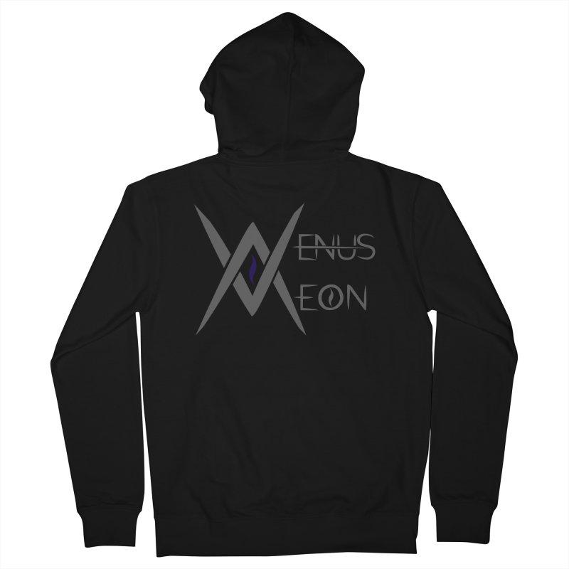 Venus Aeon logo (grey) Men's Zip-Up Hoody by Venus Aeon (clothing)