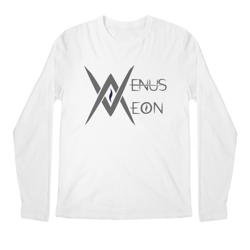 Venus Aeon logo (grey) Men's Regular Longsleeve T-Shirt by Venus Aeon (clothing)