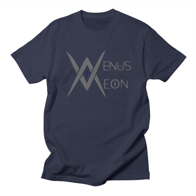 Venus Aeon logo (grey) Men's Regular T-Shirt by Venus Aeon (clothing)