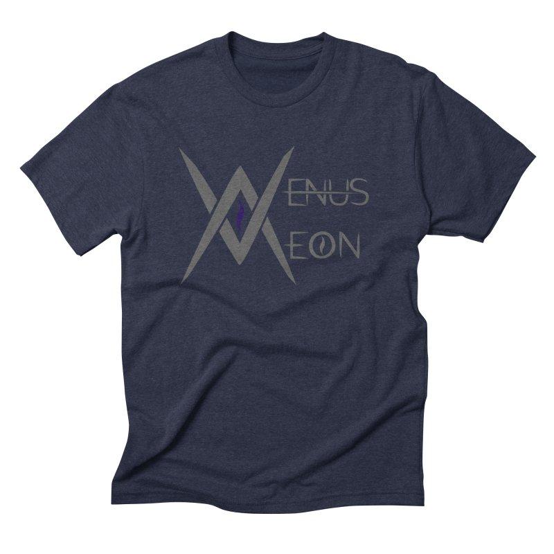 Venus Aeon logo (grey) Men's Triblend T-Shirt by Venus Aeon (clothing)