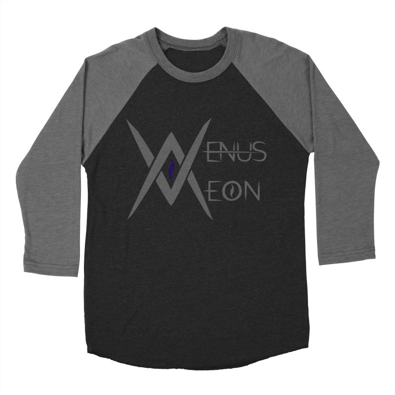 Venus Aeon logo (grey) Women's Baseball Triblend Longsleeve T-Shirt by Venus Aeon (clothing)