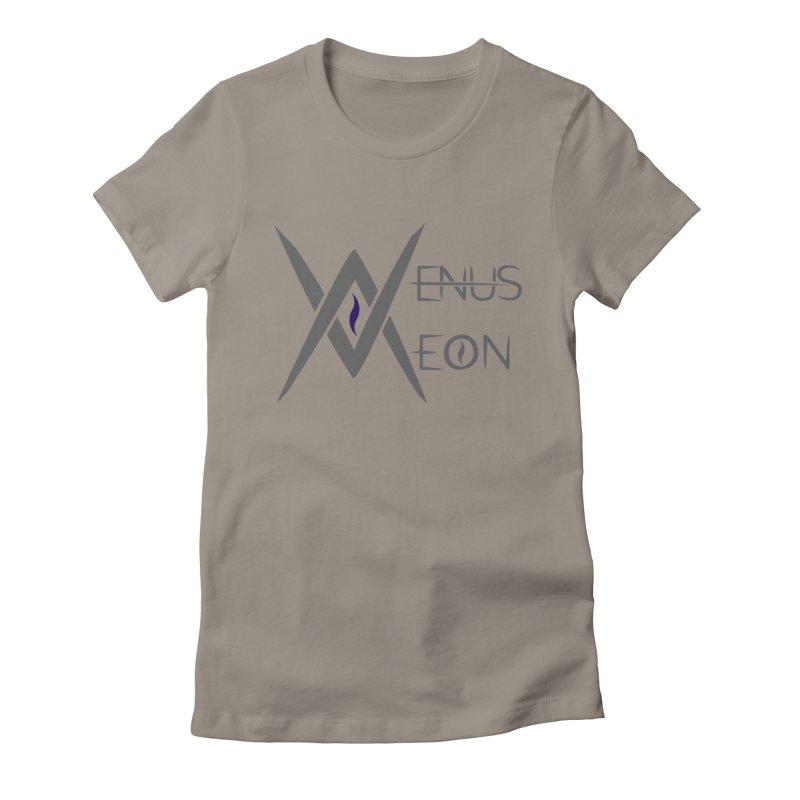 Venus Aeon logo (grey) Women's T-Shirt by Venus Aeon (clothing)