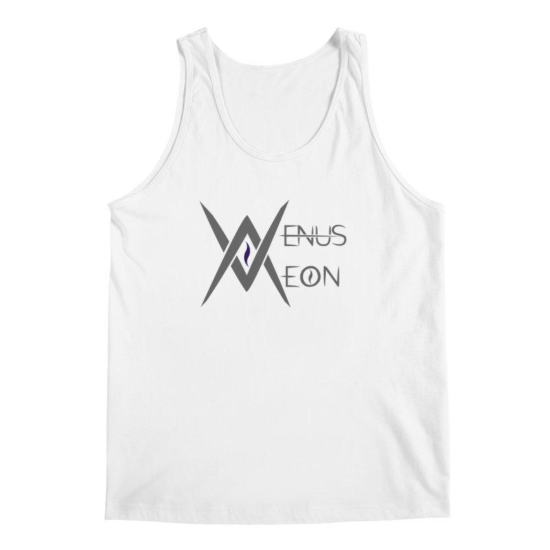Venus Aeon logo (grey) Men's Regular Tank by Venus Aeon (clothing)