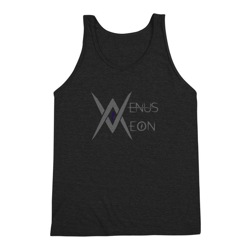Venus Aeon logo (grey) Men's Triblend Tank by Venus Aeon (clothing)