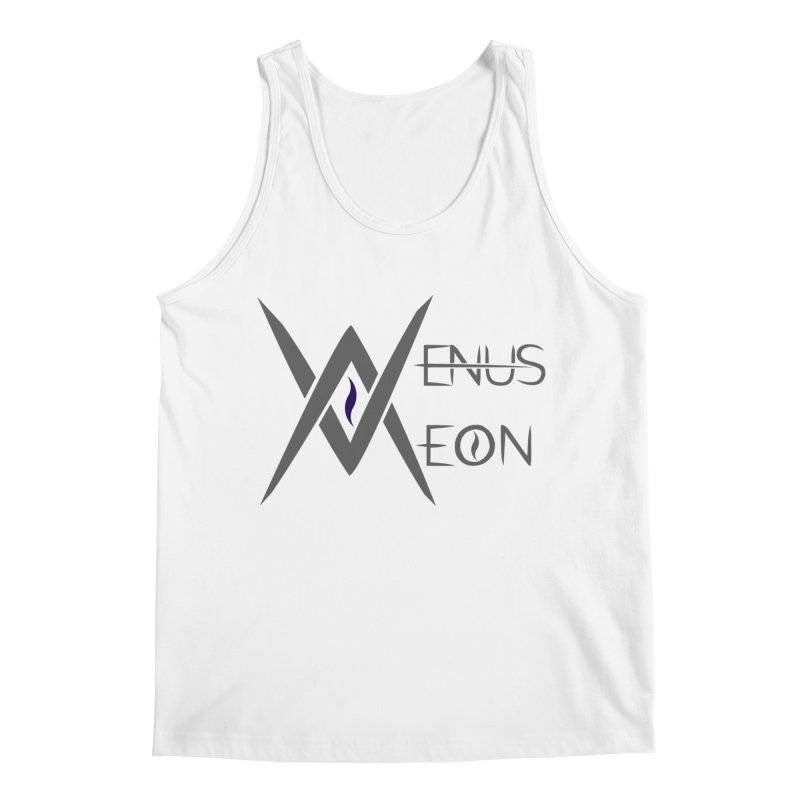 Venus Aeon logo (grey) Men's Tank by Venus Aeon (clothing)