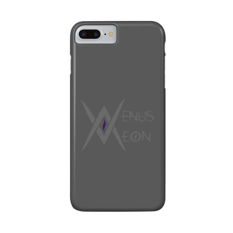 Venus Aeon logo (grey) Accessories Phone Case by Venus Aeon (clothing)