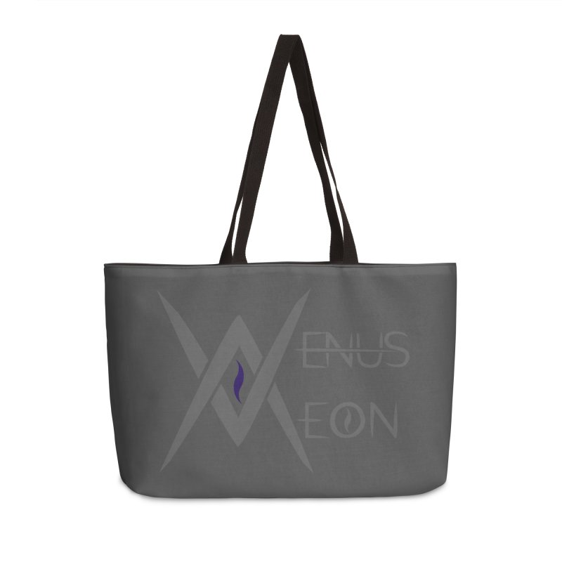 Venus Aeon logo (grey) Accessories Bag by Venus Aeon (clothing)