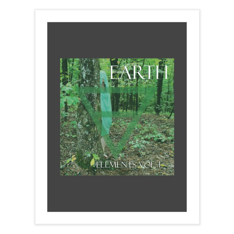 Elements Vol. 1 - Earth Home Fine Art Print by Venus Aeon (clothing)