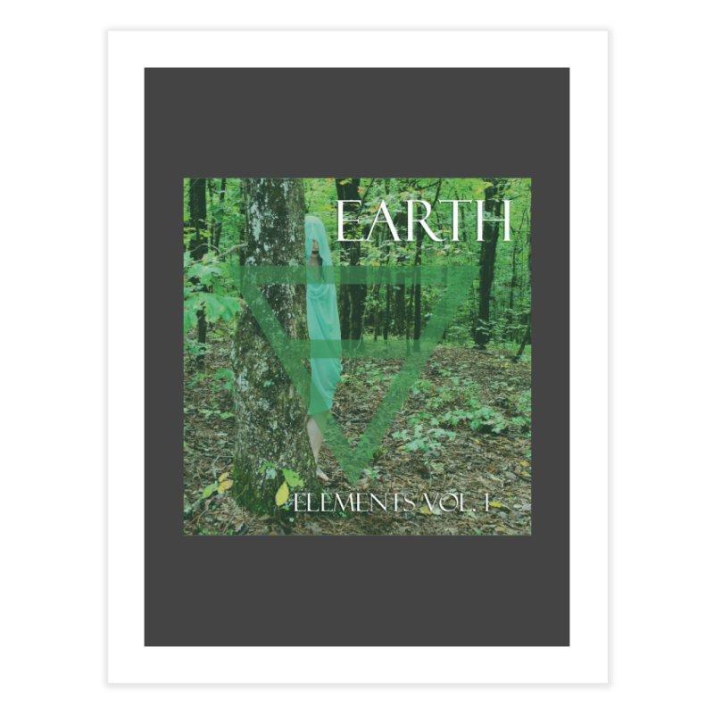 Elements Vol. 1 - Earth Home Fine Art Print by Venus Aeon (clothing)