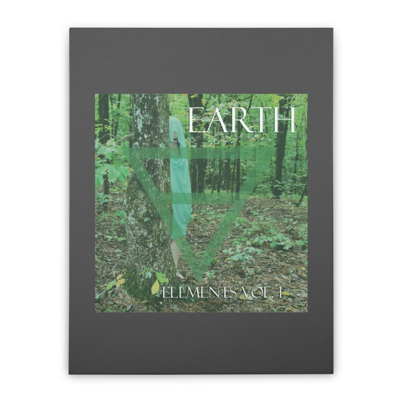 Elements Vol. 1 - Earth Home Stretched Canvas by Venus Aeon (clothing)