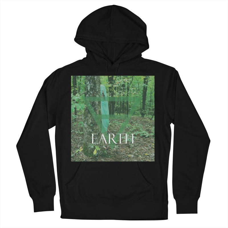 Elements Vol. 1 - Earth Men's French Terry Pullover Hoody by Venus Aeon (clothing)